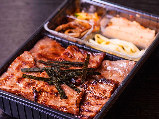 山水苑のお弁当(焼肉弁当)