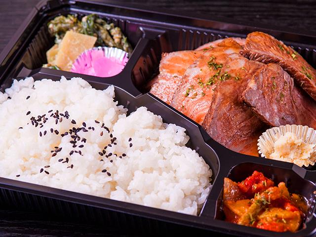 山水苑のお弁当(ローストビーフ弁当)